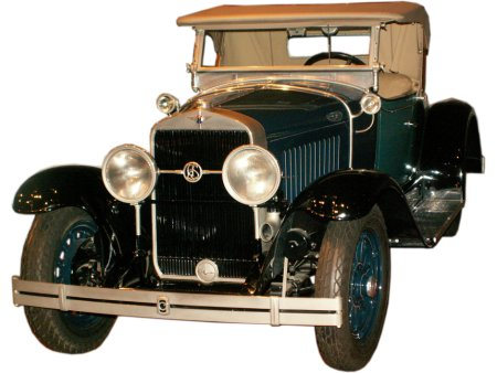 1927 Cadillac La Salle - click to enlarge!