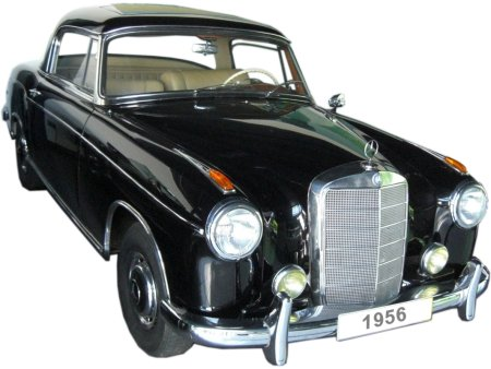 Mercedes 220 S Coupe - clickt to enlarge!