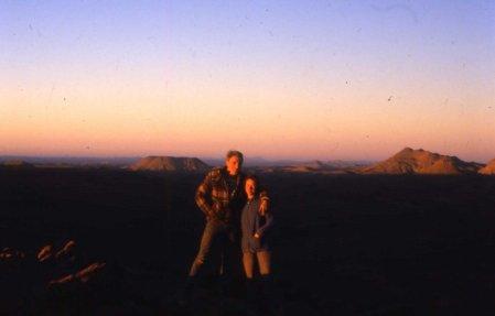 Zwei auf dem Weg durch Nordafrika - größeres Bild durch Anklicken!