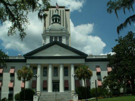 Tallahassee, Floridas offizielle Hauptstadt - größeres Bild durch Anklicken!