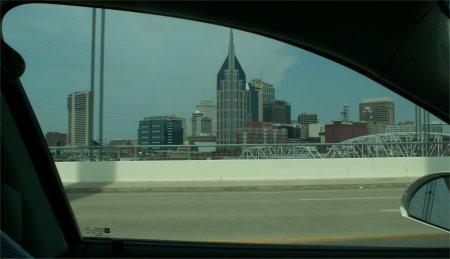 Nashville/Tennessee, bekannt durch Country Music - größeres Bild durch Anklicken!