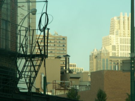 Chicago Downtown zum zweiten - gr��eres Bild durch Anklicken!