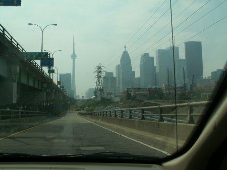 Toronto mit Stadtstrand - größeres Bild durch Anklicken!