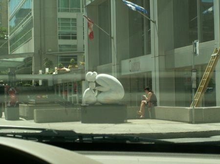 Montreal und Quebec, beide liebenswert - größeres Bild durch Anklicken!
