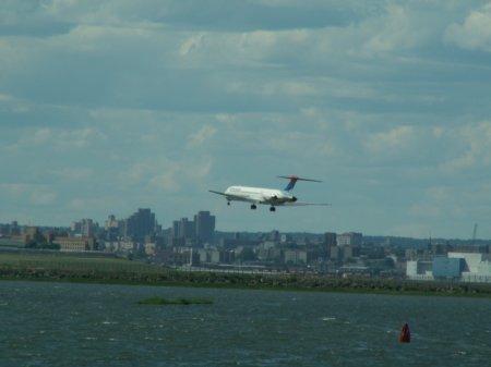 Long Island und Manhattan - größeres Bild durch Anklicken!
