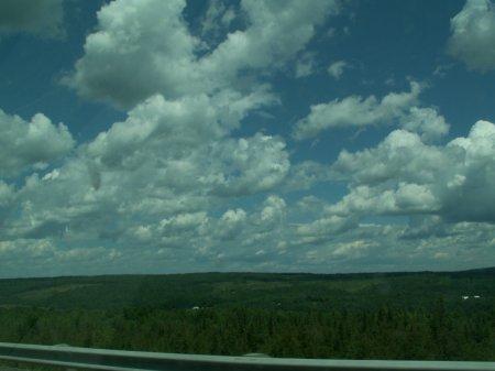 Der Himmel über dem mittleren Westen - größeres Bild durch Anklicken!