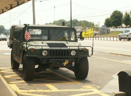 Schwere Military Version des Hummer - größeres Bild durch Anklicken!